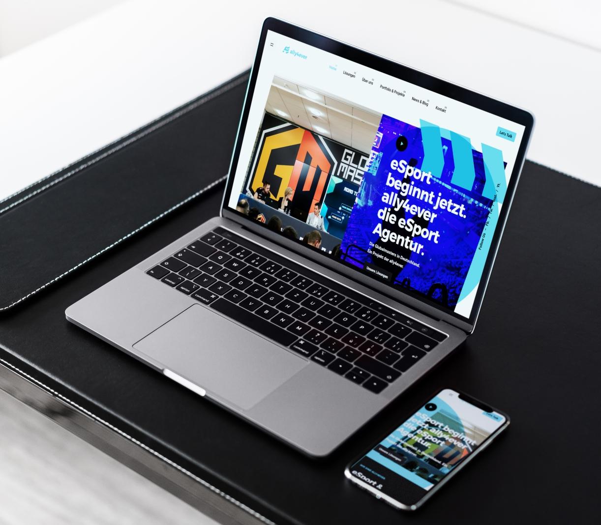 Werbeagentur Website bzw. Homepage für Unternehmen