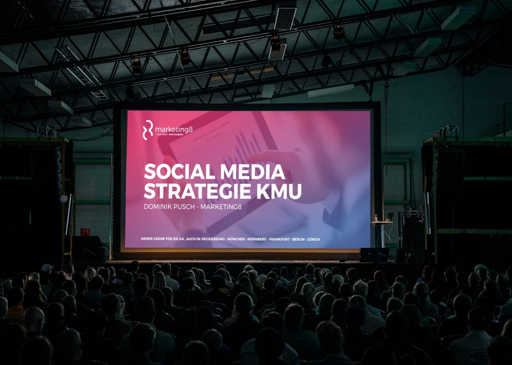 Social Media Strategie KMU beratung marketing8