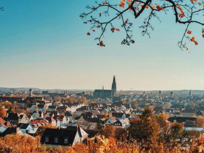 Ausblick über Regensburg